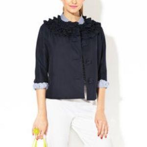 Kate Spade navy Mina blazer size S